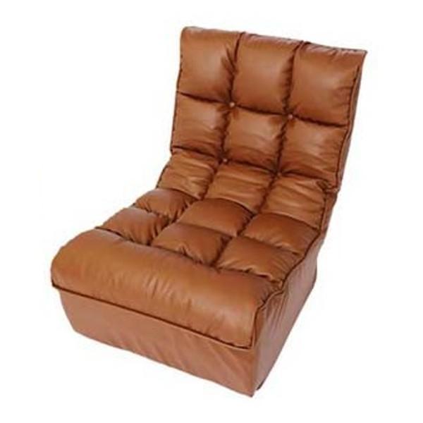 座椅子 おしゃれ ソファ リクライニング 合皮 レザー ファブリック 座いす 座イス ポケットコイル ボリューム 1人掛け ブレッド CG-862-FAB (D) (在庫処分)|inskagu-y|14