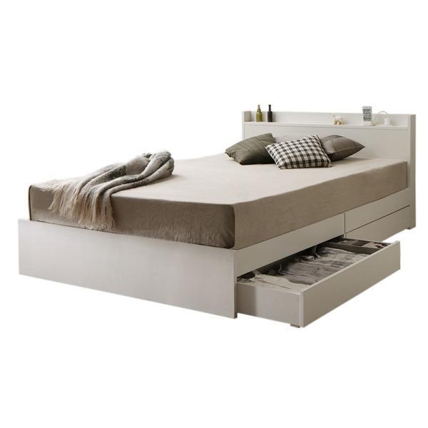 ベッド マットレス付き 収納付き ベッドフレーム 収納ベッド ベット マットレスセット コンセント付き シングルベッド ボンネルコイル ポケットコイル 送料無料|intelogue|23