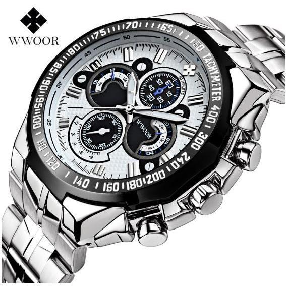 腕時計 メンズ ブランド シルバー ブルー 送料無料 おしゃれ 5気圧防水 WWOOR クオーツ|inter-gallery-fasao|23