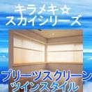 キラメキ・スカイシリーズ「プリーツスクリーン・ツインスタイル」
