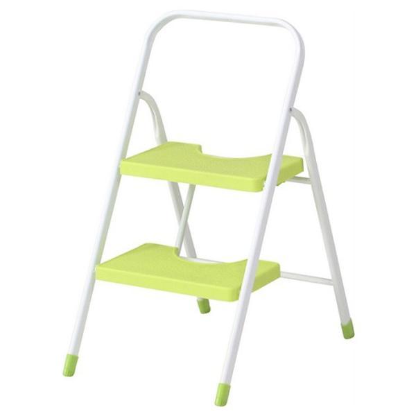 踏み台 折りたたみ 2段 おしゃれ ステップ カラー 脚立 はしご|interior-festa|06