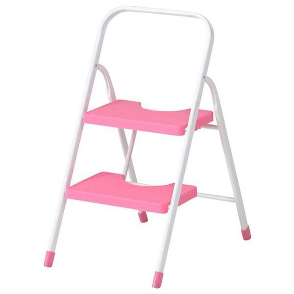 踏み台 折りたたみ 2段 おしゃれ ステップ カラー 脚立 はしご|interior-festa|05