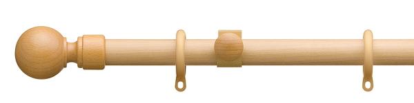 トーソーカーテンレール ローレット木目シングルセット