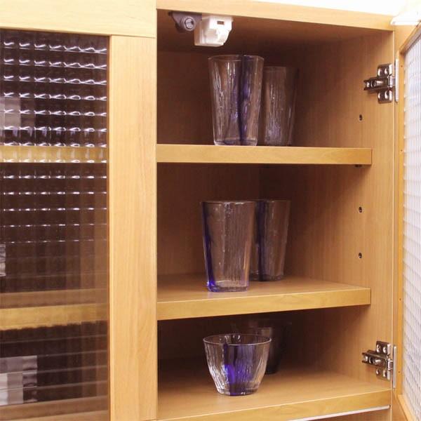 レンジ台 食器棚 完成品 幅105cm 北欧