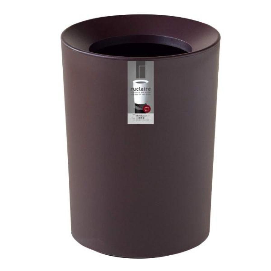 ゴミ箱 2L カバー付き 袋が見えない ごみ箱 ダストボックス 屑入れ 丸型 小さめ 洗面台 卓上 ( ミニ 小さい 丸 スリム フタなし 袋 見えない 2 リットル )|interior-palette|16