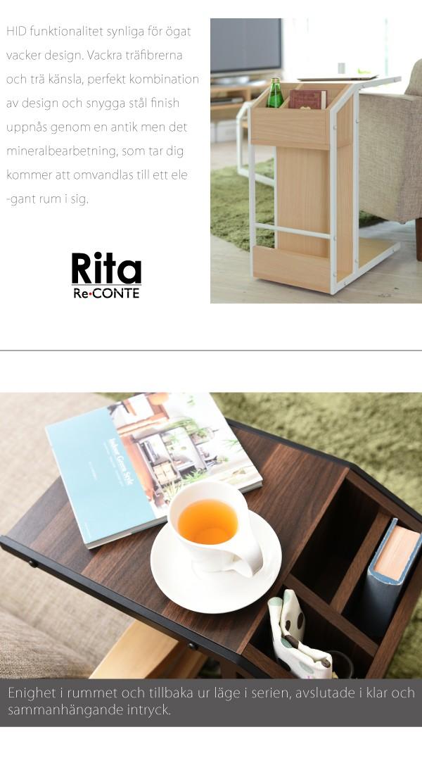 Rita サイドテーブル 北欧 ブルックリンスタイル DRT-0008