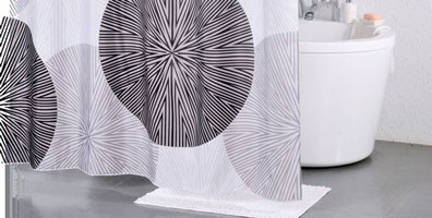 シャワーカーテン サークル