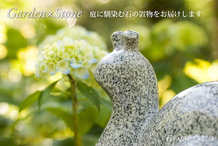 石のカタツムリ