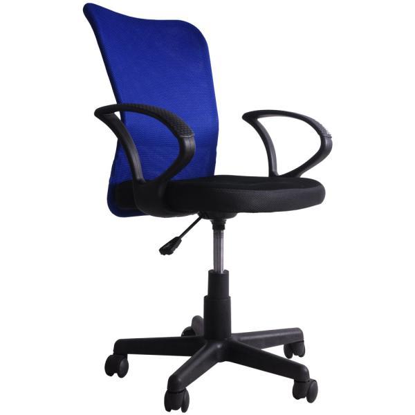 チェア オフィスチェア パソコンチェア 肘付き メッシュ 送料無料 椅子 事務椅子 360度回転 通気性 耐久性抜群 腰当て あすつく iofficejp 17