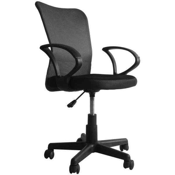 チェア オフィスチェア パソコンチェア 肘付き メッシュ 送料無料 椅子 事務椅子 360度回転 通気性 耐久性抜群 腰当て あすつく iofficejp 20