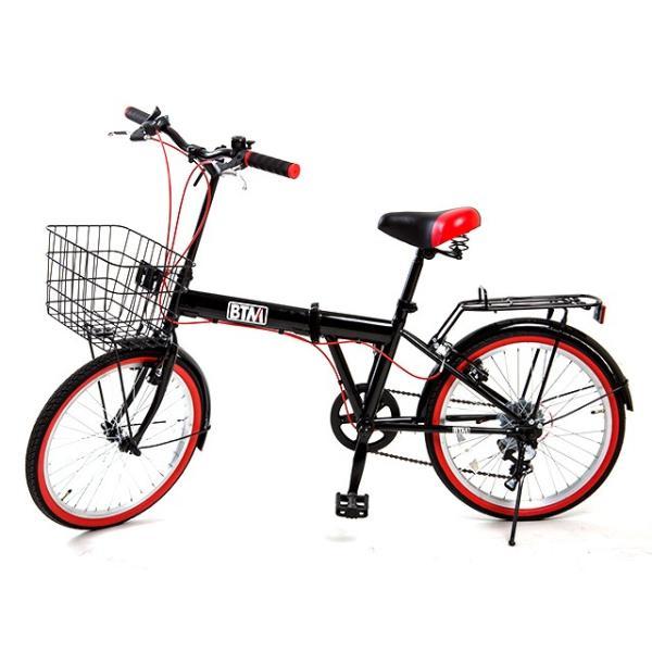折りたたみ自転車 20インチ 軽量 カゴ付き 荷台付き 一年安心保障 シマノ6段変速 鍵 ライト付 送料無料|iofficejp|18