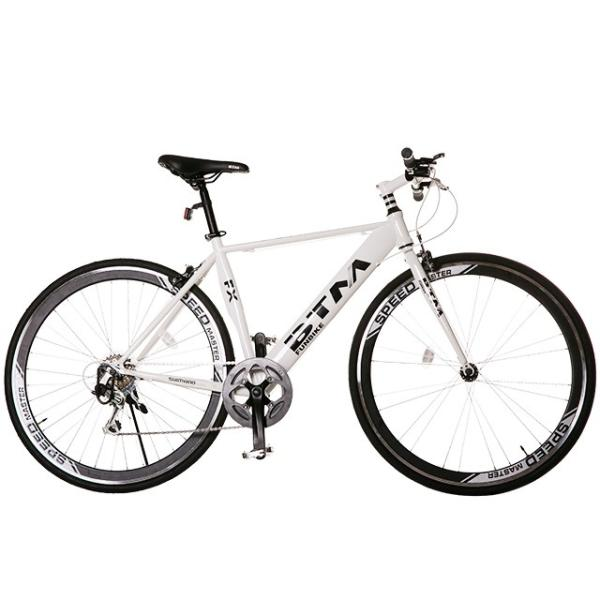 クロスバイク 自転車 3色 ディープリム 700C シマノ製7段ギア 一年安心保障 送料無料 PL保険付|iofficejp|13