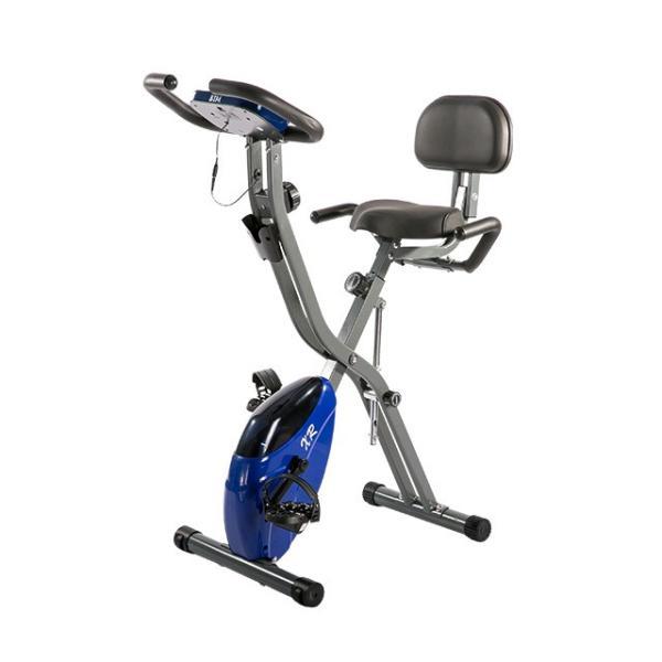 エアロバイク 折りたたみ フィットネスバイク 静音 1年保証  4色 マグネット式 背もたれ 折り畳み ダイエット 送料無料|iofficejp|18