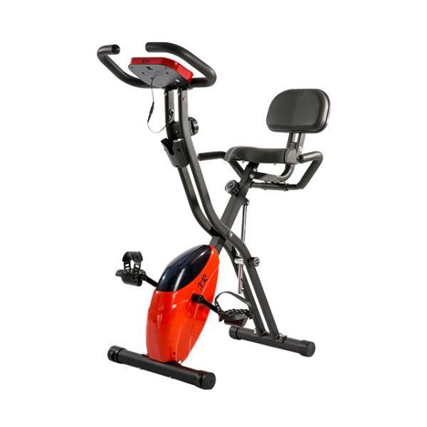 エアロバイク 折りたたみ フィットネスバイク 静音 1年保証  4色 マグネット式 背もたれ 折り畳み ダイエット 送料無料|iofficejp|19