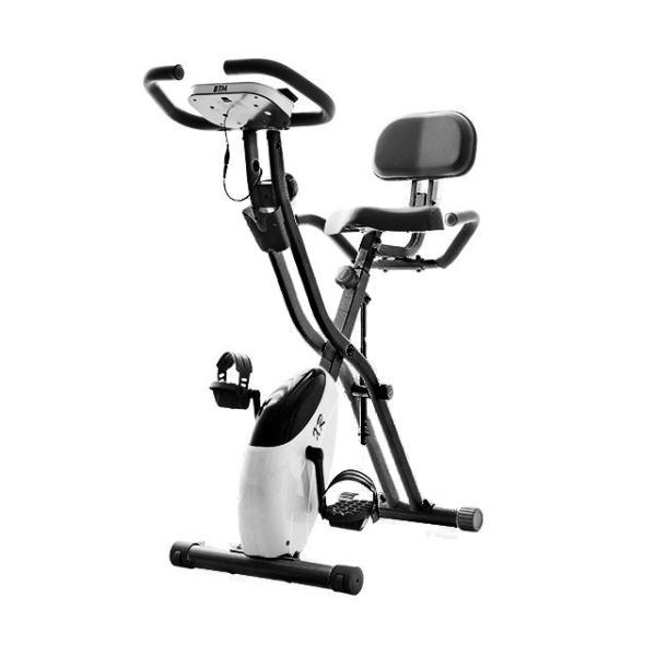 エアロバイク 折りたたみ フィットネスバイク 静音 1年保証  4色 マグネット式 背もたれ 折り畳み ダイエット 送料無料|iofficejp|20