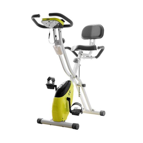 エアロバイク 折りたたみ フィットネスバイク 静音 1年保証  4色 マグネット式 背もたれ 折り畳み ダイエット 送料無料|iofficejp|17
