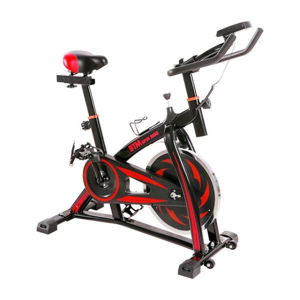 スピンバイク フィットネスバイク フライホイール 10kg 静音 家庭用 室内用 1年安心保証 本格トレーニング ルームランナー エアロバイク|iofficejp|16