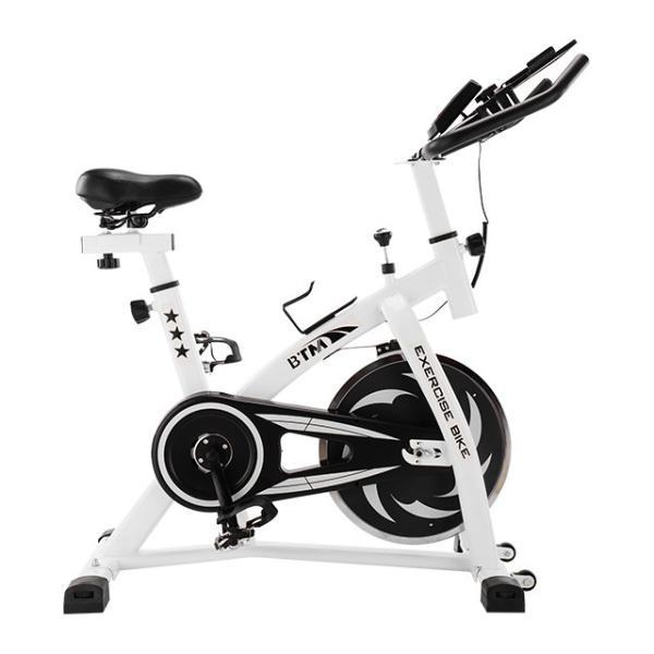 スピンバイク フィットネスバイク フライホイール 10kg 静音 家庭用 室内用 1年安心保証 本格トレーニング ルームランナー エアロバイク|iofficejp|18