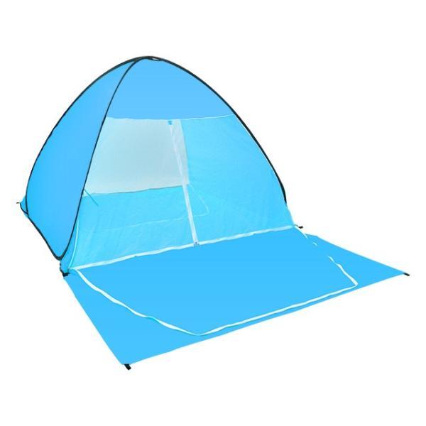 キャンプテント ワンタッチ 軽量 UVカット 簡単テント 送料無料 簡易 日よけ ピクニック 4人用  |iofficejp|15