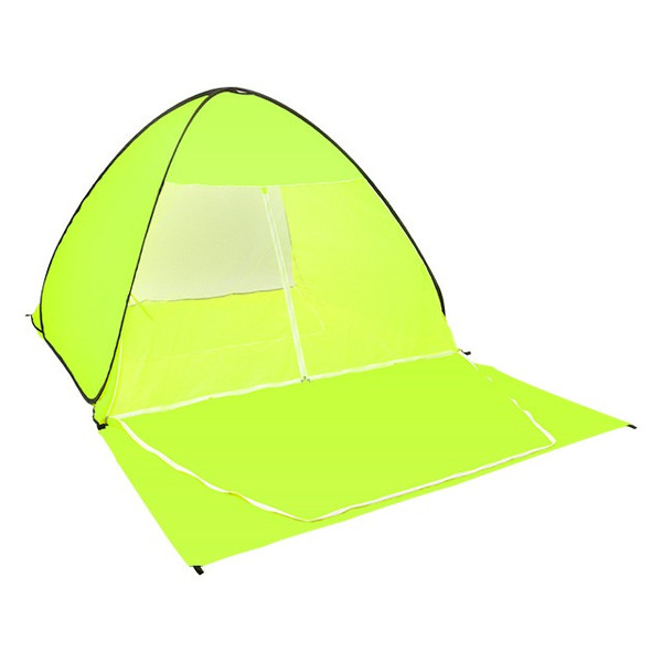 キャンプテント ワンタッチ 軽量 UVカット 簡単テント 送料無料 簡易 日よけ ピクニック 4人用  |iofficejp|14