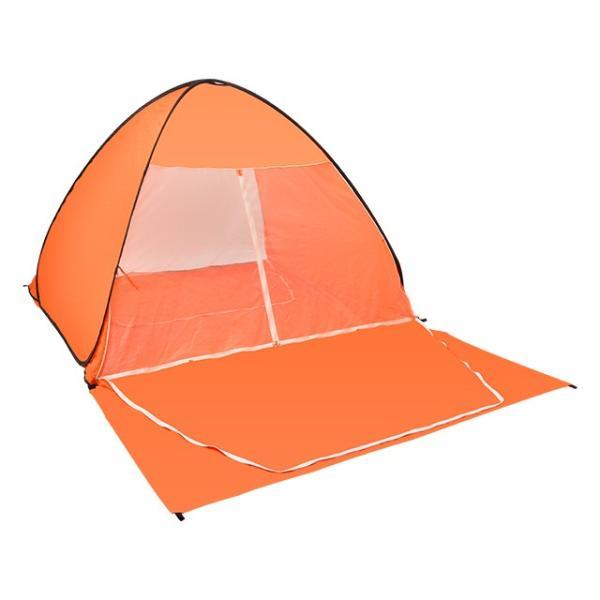 キャンプテント ワンタッチ 軽量 UVカット 簡単テント 送料無料 簡易 日よけ ピクニック 4人用  |iofficejp|16
