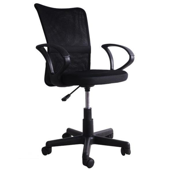 チェア オフィスチェア パソコンチェア 肘付き メッシュ 送料無料 椅子 事務椅子 360度回転 通気性 耐久性抜群 腰当て あすつく iofficejp 14