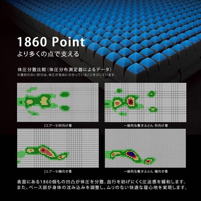 西川エアーSIハード AIR-SI Hard イメージ画像2