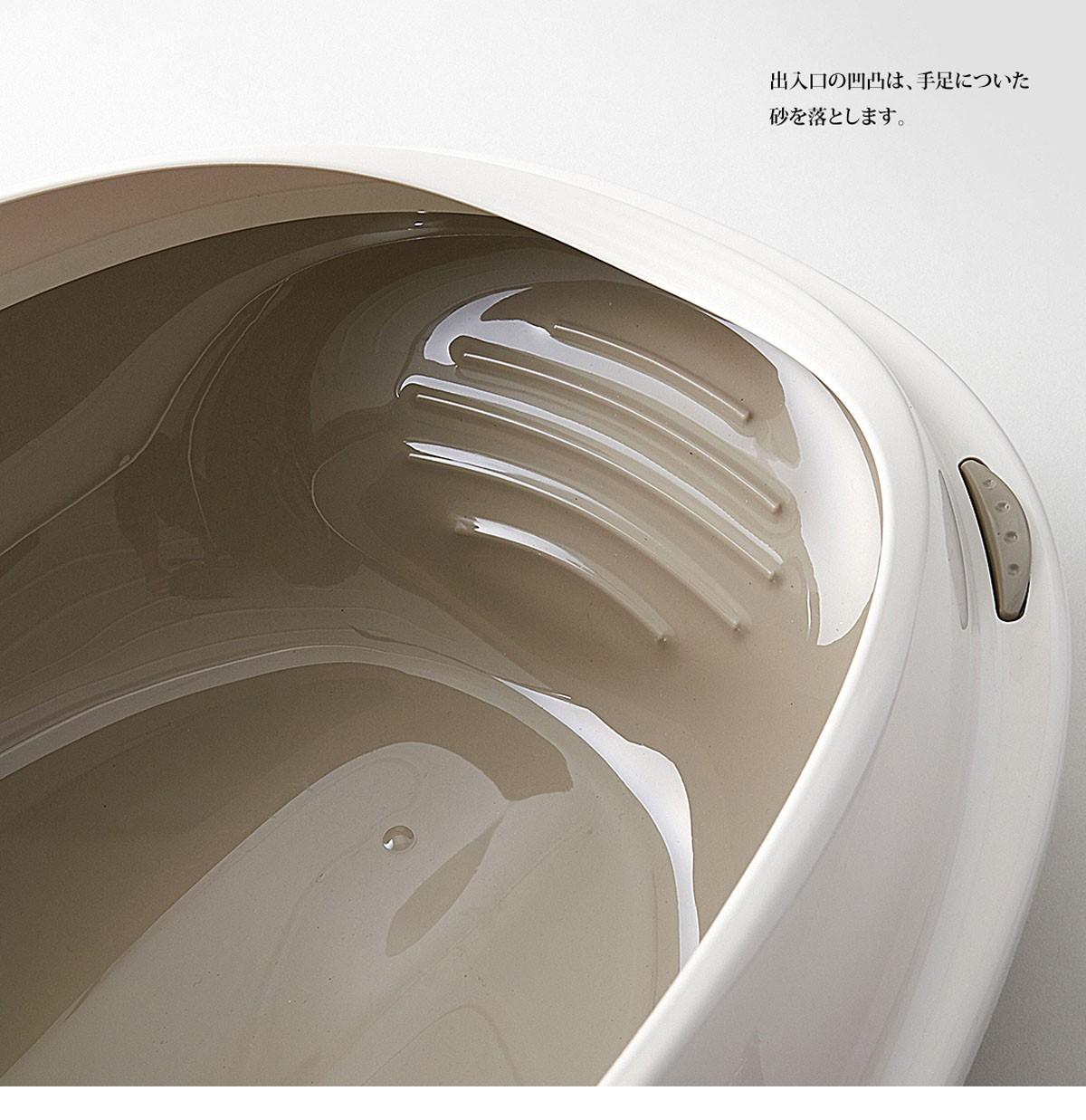 イタリア製ねこトイレ シャトル(Shuttle) Mサイズ
