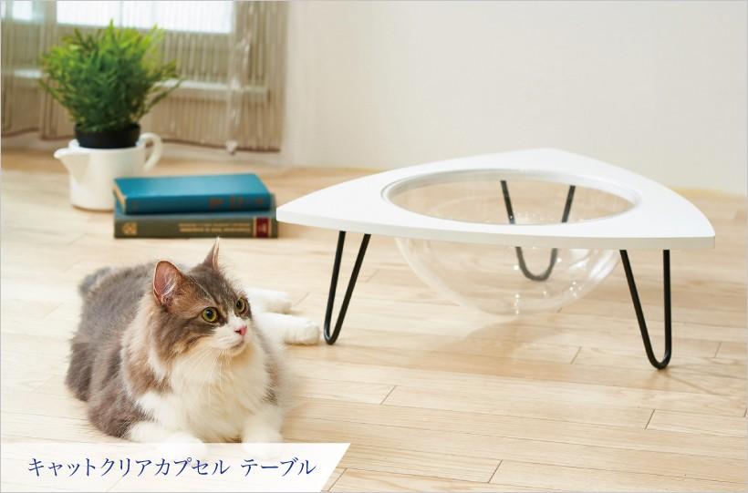 キャットクリアカプセル テーブル
