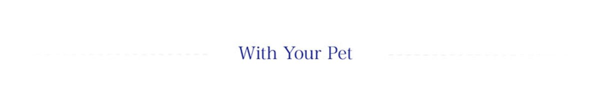 with your pet