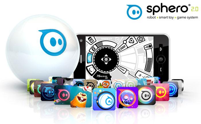Sphero 2.0 ロボット・ボール (ホワイト)