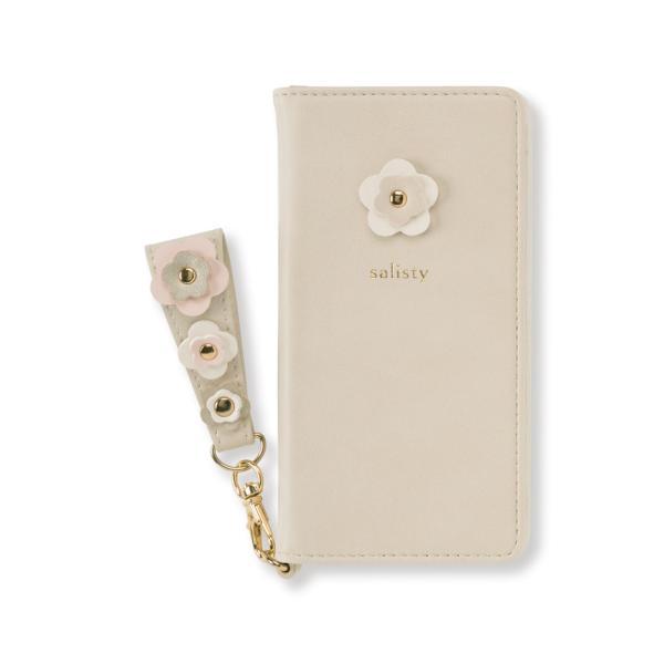 iphone8 iphone7 手帳型 ケース iphone6s iphone6 手帳 ケース スマホケース 女性 上品 おしゃれ salisty サリスティ Q P M ダイアリーケース iplus 24
