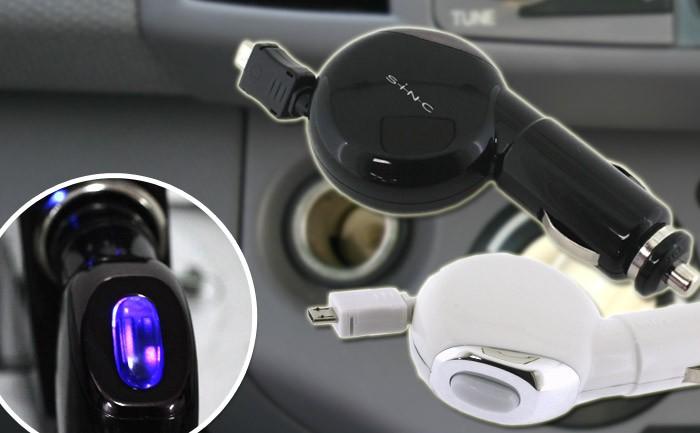 車載用microUSB携帯充電器 デジタルチャージャーXR