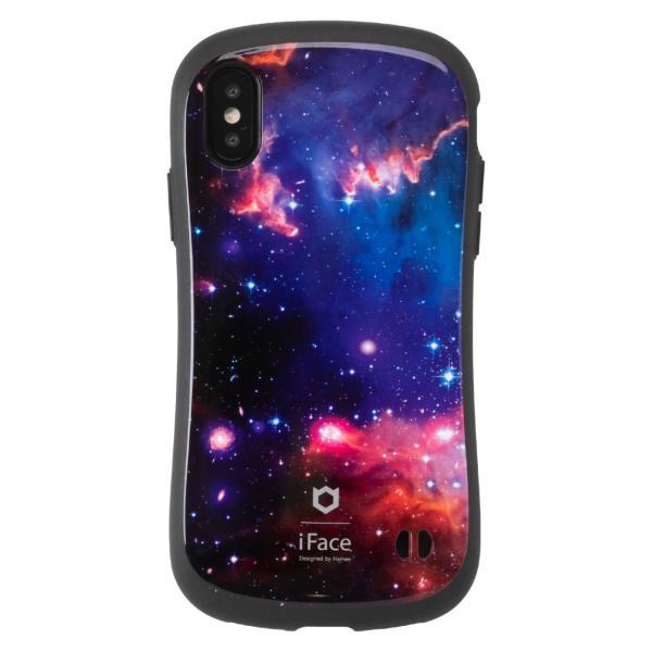 iFace iphone8 iphone7 iphone xs iphone x ケース 耐衝撃 アイフェイス ケース 宇宙  ユニバース 星雲 柄 スマホケース メンズ|iplus|17