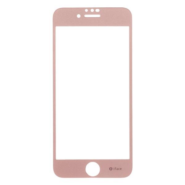 iphone8 フィルム  ガラス iface アイフェイス ガラスフィルム iphone7 iphone6s iphone6 ラウンドエッジ 強化ガラス 液晶保護シート|iplus|24