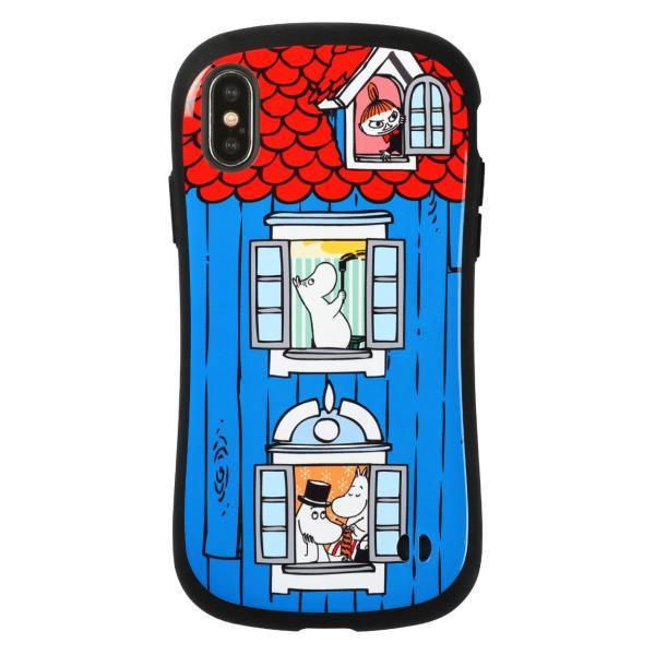 iFace アイフェイス ムーミン スマホケース iPhone XR XS X ケース ムーミン 家 iPhone ミィ ケース|iplus|17