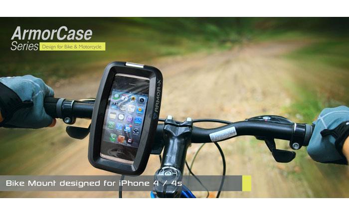 ARMOR-X ArmorCase Bike Mountバイクマウント付き防水ケース