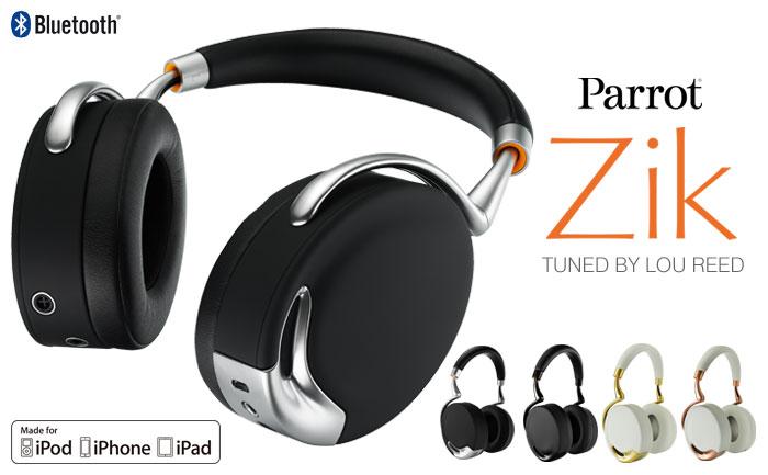 Parrot Zik Bluetoothワイヤレスヘッドフォン