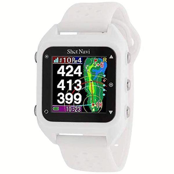 距離計 ゴルフ 腕時計 距離測定器 腕時計型 ゴルフ用 小型 ゴルフ用品 測定器 軽量 Shot Navi HuG Beyond irisvga-y 04