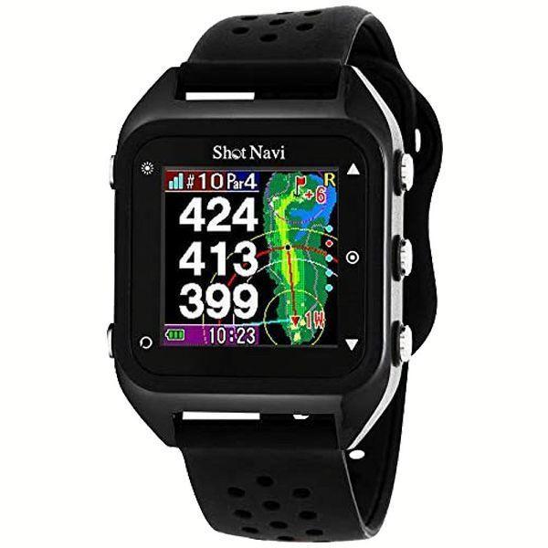 距離計 ゴルフ 腕時計 距離測定器 腕時計型 ゴルフ用 小型 ゴルフ用品 測定器 軽量 Shot Navi HuG Beyond irisvga-y 05