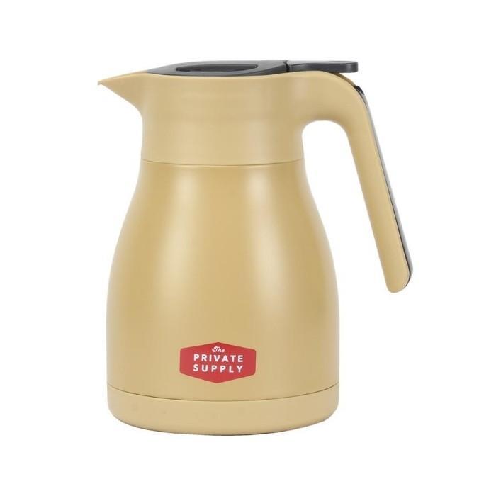 ベストコ サプライ ステンレスジャグ 1L 保温 保冷 ティーポット 魔法瓶 ポット 保温ポット 卓上ポット コーヒー カフェ ポット ステンレス ポット|irodorikukan|13