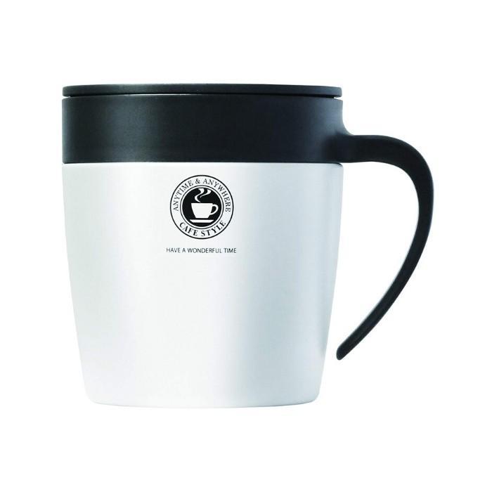 アスベル おしゃれ マグカップ ステンレス 蓋付き フタ付 330ML MG-S330N 保冷 保温 コーヒー タンブラー 水筒|irodorikukan|12