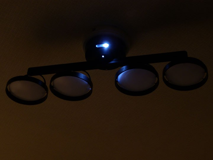 LED保安灯 Crux ASP-800BR LEDシーリングスポットライト 調光リモコン付
