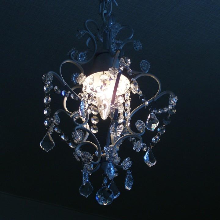 1灯シャンデリア Artemis アルテミス ホワイト