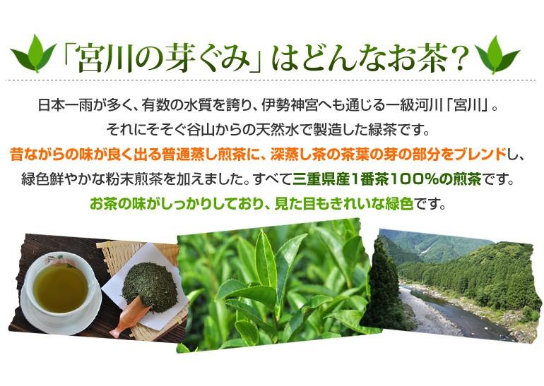 宮川の芽ぐみはどんなお茶?