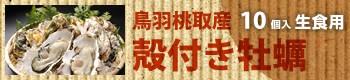 鳥羽桃取産 殻付き牡蠣/10個入(生食用)