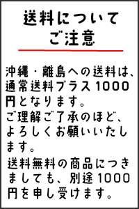 沖縄・離島の送料について