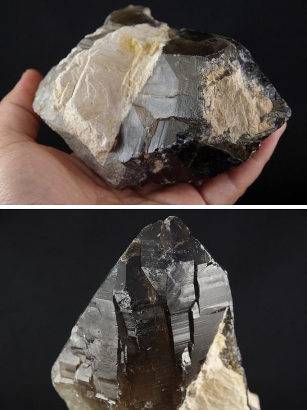 ブラジル産黒水晶ポイント