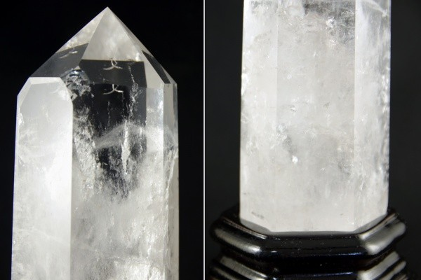 天然水晶ポイント ポリッシュ研磨 1kg