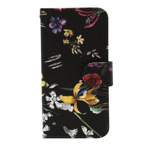 スマホケース 花柄 iPhone8 iphone7 アイフォン8  アイフォン7手帳型 スマホカバー カードホルダー フラワー 送料無料|ismoki|16